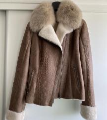 NOVO SNIZENO Kozna italijanska jakna