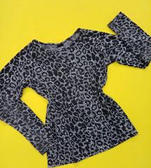 Animal print bluza vel 10