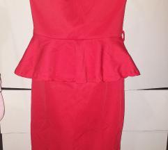 Crvena top haljina