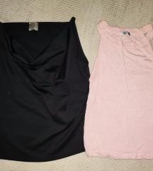 CRNI PETAK Set dve majice