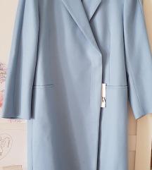 REZZ Nov plav Zara dugi kaput limited