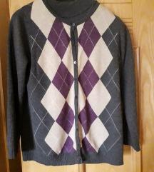 Džemper i polurolka- set C&A veličina M