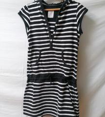 H&M haljina sa kapuljacom za devojcice  158