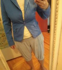 Plavi tanji letnji sako made in Italy