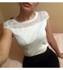 Motivi bela majica sa tilom S