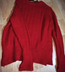 H&M crveni džemper ❤️