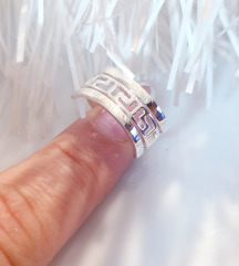 Srebrni prsten Novo 17mm.