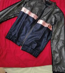 Crno zlatna jakna