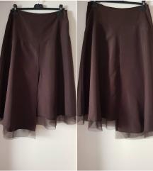 %%3.900-Promod atraktivna braon suknja