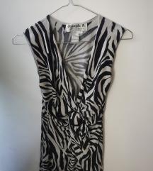 Zebra majica/bluza/tunika S