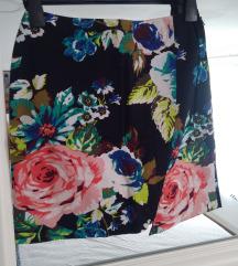 H&M suknja neon boja