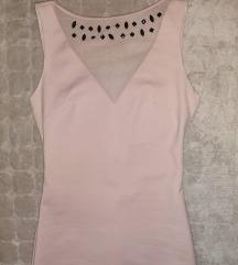 Puder roze haljina Zara