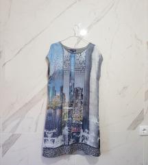 Dvostrana print haljina