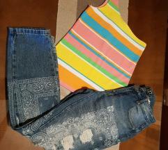 Pantalone i majica 500 fb sister