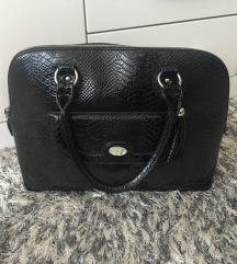 Orsay crna lakovana torba