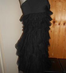 KIKIRIKI crna haljina S/M