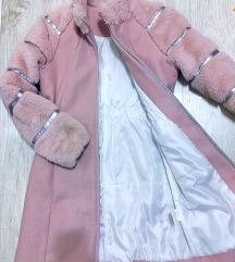 Novo-elegantni kaput za devojcice 12 god