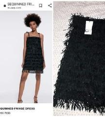 NOVA ZARA crna haljina