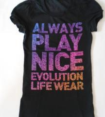 sada 400 Lepa majica sa puf rukavićima Evolution