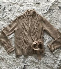 INTIMISSIMI bež džemper na preklop / S