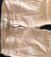 Zenske svetlo roze pantalone