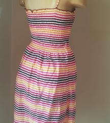 H&M midi letnja haljina na bretele vel 34