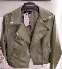 Reserved kozna jakna 38 i 40 br