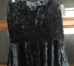 Nova plisana siva suknja