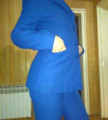 Predivan plavi komplet lamiran M