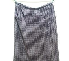 akrilna peloto suknja za starije dame