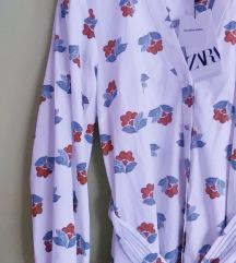 Zara Novo sa Etiketom Midi Haljina M
