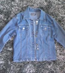 Svetlo plava teksas jakna L