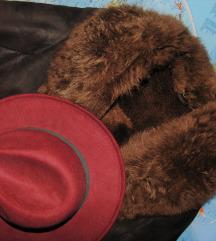 Vintage braon bunda/kaput. Made in Yugoslavia.