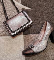 Efektne srebrne cipele