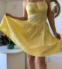 Benissimo zuta haljina