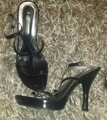 Crne MORELLI  sandale sa kopčama IDEALNA CENA!!!