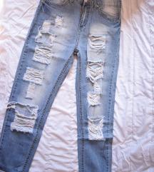 Boyfriend jeans dubokog struka vel. S