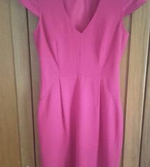 H&M pink haljina NOVO