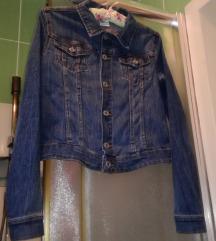 H&M crop teksas jakna