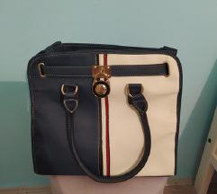 Plavo bela torba