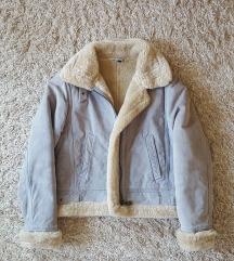 Kožna jakna sa krznom