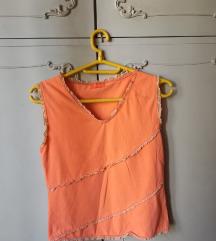 Narandžasta majica bez rukava