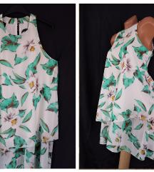 ATMOSPHERE ✿ slojevita letnja bela haljina