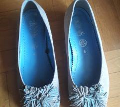 ARA kozne preudobne sive cipele 5,1/2 G, 39/25cm