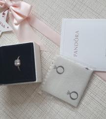 PANDORA prsten - 14k roze pozlata 26.6