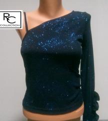 Plava sljokicasta majica RC Collection vel S