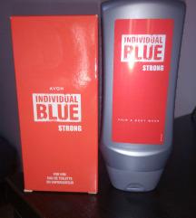 Individual Blue Strong set