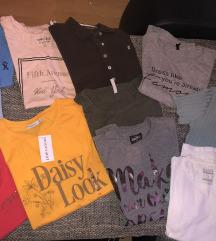 3 majice 500 dinara,rasprodaja