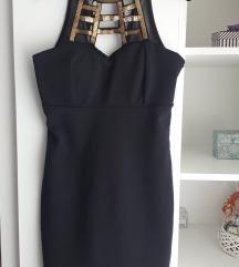 Crna svecana haljina *KAO NOVA*