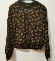 NOVA bomber jakna sa leopardima